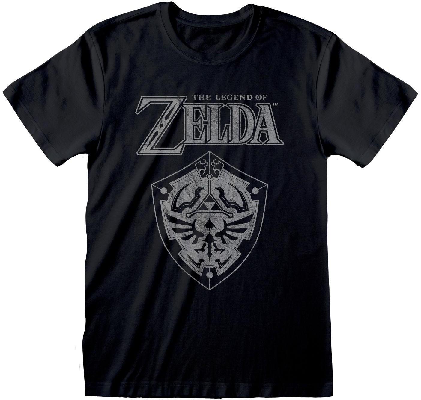Legend Of Zelda - Distressed Shield T-Shirt