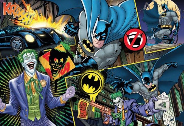 DC Comics - Batman vs. Joker Supercolor Jigsaw Puzzle