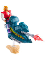 Masters of the Universe Origins - Prince Adam with Sky Sled