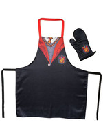 Harry Potter - Gryffindor School Uniform cooking apron with oven mitt
