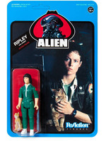 Alien - Ripley with Jonesy (Blue Card) - ReAction