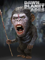 Dawn of the Planet of the Apes - Defo-Real Series Caesar (Warrior Face)