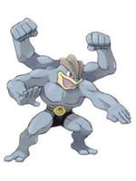 Pokemon - Machamp Battle Feature Action Figure