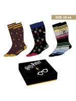 Harry Potter - Crests Socks 3-pack - 40-46