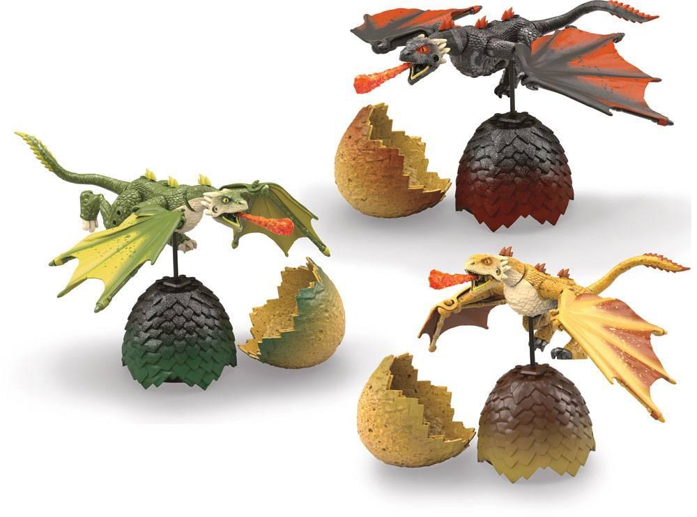 Game of Thrones - Mega Construx Dragon Eggs Set