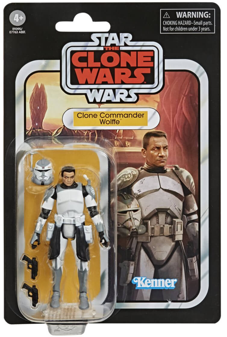 Star Wars The Vintage Collection - Clone Commander Wolffe