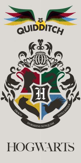 Harry Potter - Quidditch Towel - 70 x 140 cm