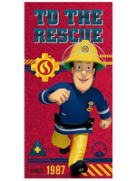 Fireman Sam - To the Rescue Towel - 70 x 140 cm