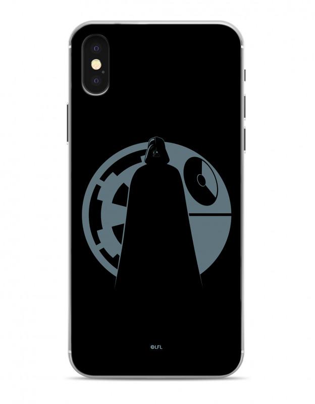 Star Wars - Darth Vader Death Star Black Phone Case