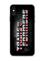 Transformers - Blue Red Logo on Black Phone Case