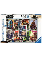 Star Wars: The Mandalorian - Trading Cards Puzzle