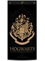 Harry Potter - Hogwarts Wall Banner (Black)