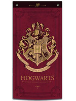 Harry Potter - Hogwarts Wall Banner (Red)