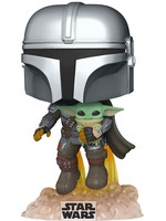 Funko POP! Star Wars: The Mandalorian - The Mandalorian with the Child
