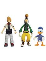 Kingdom Hearts - Roxas, Donald & Goofy