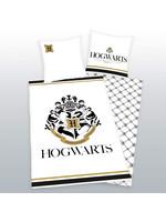 Harry Potter - Hogwarts Crest Gold Duvet Set 135 x 200 cm