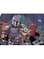 Star Wars - The Mandalorian Cartoon Jigsaw Puzzle (1000 pieces)
