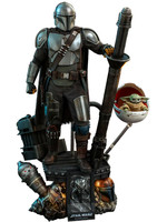 Star Wars The Mandalorian - The Mandalorian & The Child Deluxe 2-pack - Hot Toys Quarter Scale Series