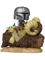 Funko POP! Star Wars: The Mandalorian - The Mandalorian on Wantha with Child in Bag