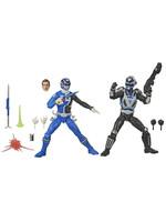 Power Rangers Lightning Collection - S.P.D. B-Squad Blue Ranger vs. A-Squad Blue Ranger