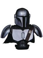 Star Wars The Mandalorian - The Mandalorian Beskar Armor Legends in 3D Bust - 1/2