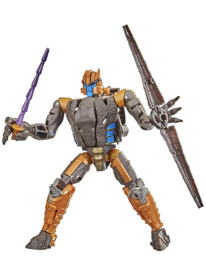 Transformers Kingdom War for Cybertron - Dinobot Voyager Class
