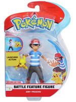 Pokemon - Ash & Pikachu Battle Feature Action Figure