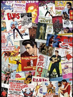 Elvis Presley - Movie Poster Collage Jigsaw Puzzle (1000 pieces)