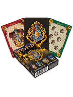 Harry Potter - House Crests Playing Cards