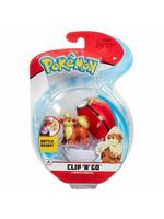 Pokémon - Clip 'N' Go Repeat Ball - Growlithe