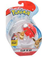Pokémon - Clip 'N' Go Poké Ball - Eevee