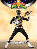 Mighty Morphin Power Rangers - Black Ranger - FigZero 1/6