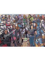 Star Wars The Mandalorian - Baby Yoda Challenge Jigsaw Puzzle (1000 pieces)