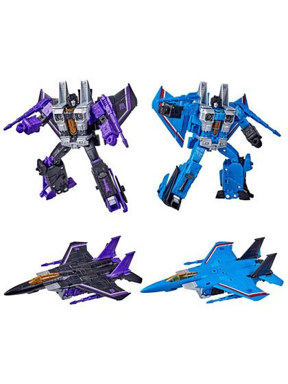 Transformers Earthrise War for Cybertron - Skywarp & Thundercracker Voyager Class