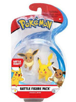 Pokémon - Eevee & Pikachu Battle Figure Pack