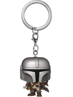Pocket POP! Star Wars: The Mandalorian - Mandalorian Keychain