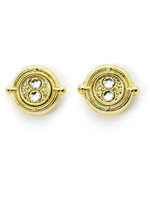 Harry Potter - Time Turner Stud Earrings (gold plated)
