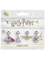 Harry Potter - 4-Pack Charms (silver plated)