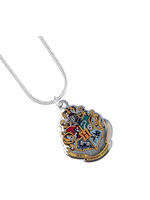 Harry Potter - Hogwarts Pendant and Necklace (silver plated)