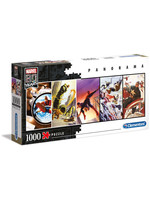Marvel - 80th Anniversary Panorama Puzzle Characters