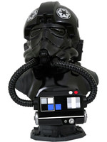 Star Wars: The Clone Wars - TIE Fighter Pilot Legends in 3D Bust - 1/2