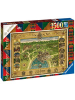 Harry Potter - Hogwarts Map Jigsaw Puzzle (1500 pieces)