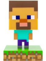 Minecraft - Steve 3D Icon Light