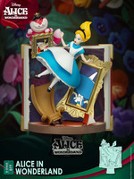 Disney Story Book Series D-Stage - Alice in Wonderland Diorama