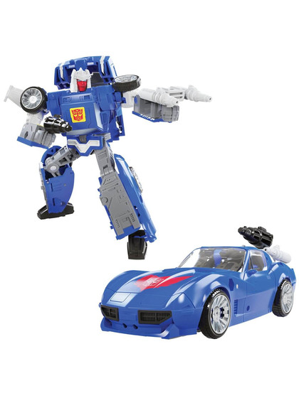 Transformers Kingdom War for Cybertron - Tracks Deluxe Class