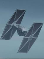 Star Wars The Mandalorian - Outland TIE Fighter Model Kit - 1/65