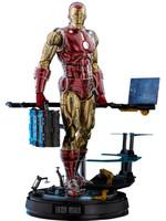 Marvel The Origins - Iron Man Comic Masterpiece Deluxe Version - 1/6
