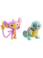 Pokémon - Aipom & Squirtle Battle Figure Pack