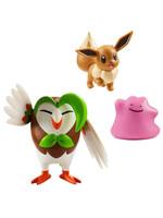 Pokémon - Battle Figure Set - Dartrox, Eevee & Ditto