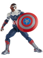 Marvel Legends: The Falcon and The Winter Soldier - Captain America (Sam Wilson) (Flight Gear BaF)